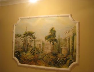 Роспись стен, мебели